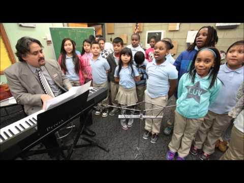 El Sistema music program at Grant Elementary School in Trenton