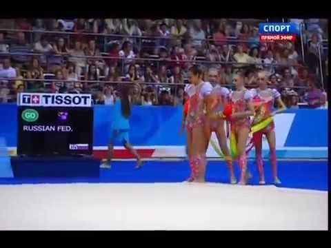 Золотая медаль Рио 2016 художественная гимнастика команда России
