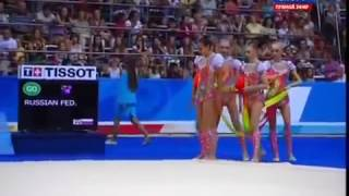 Сборная России по художественной гимнастике завоевала золото Олимпиады Рио 2016