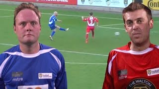 Tubes v Smithy in 17 Goal Charity Game! | Sellebrity Soccer