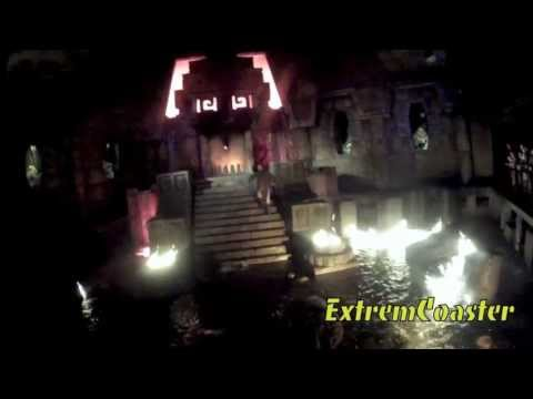 Templo Del Fuego - Complete Version - Port Aventura 2013 - (HD) Videos De Viajes