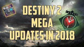 Destiny 2 News : So wird sich Destiny 2 ändern | Alle Updates & Content 2018