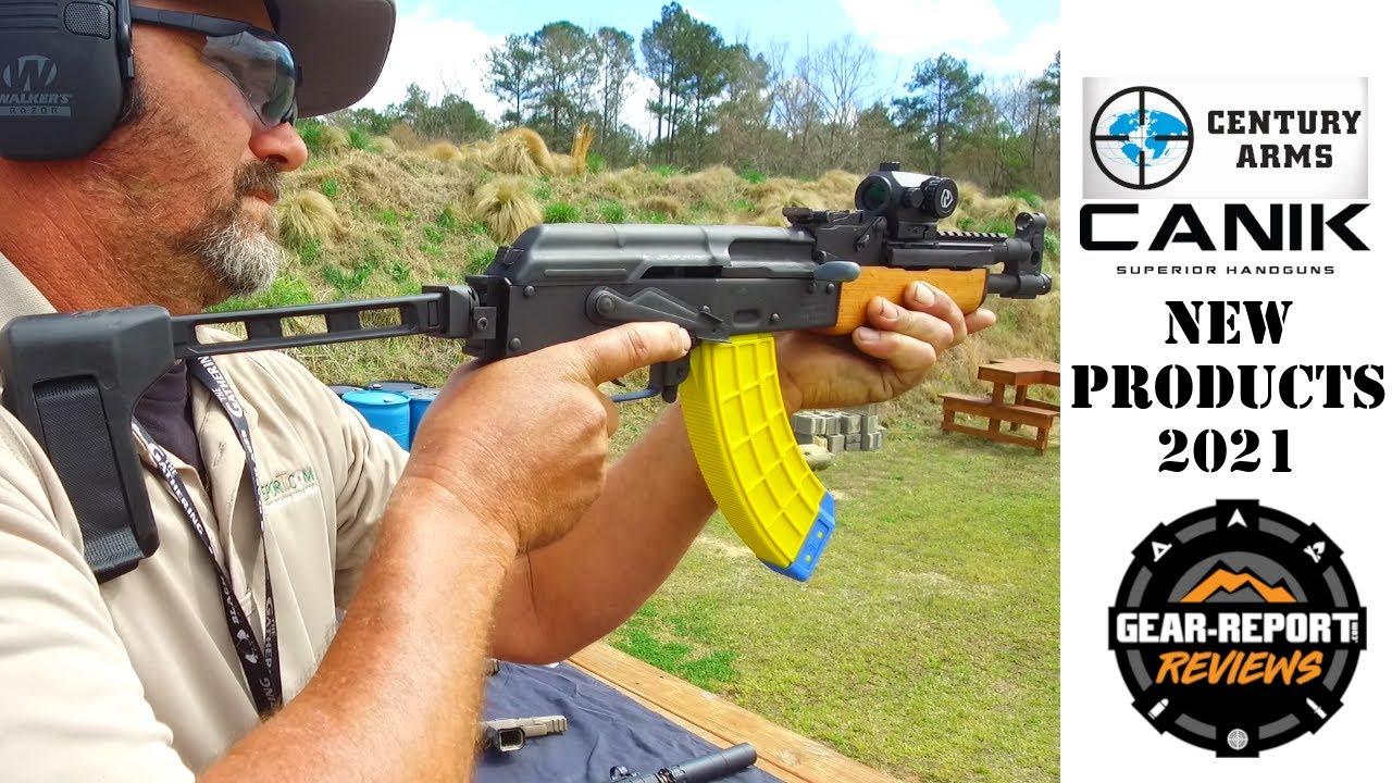 Century Arms & Canik 2021 New Guns - Range Demos