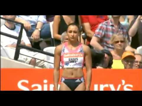 2013 Diamond League London women 100m hurdles: Sally Pearson races her SB 12.65 !