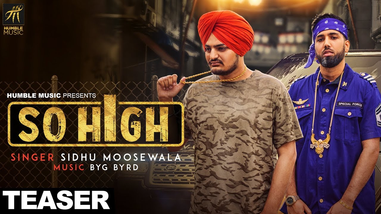 sidhu moose wala song so high download video