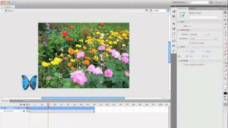 Flash CS5 Tutorial: Creating an animated butterfly symbol