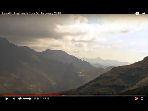 Lesotho Highlands Tour 5th February 2018