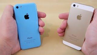 iPhone 5C - iPhone 5s vs iPhone 5c - Full Comparison