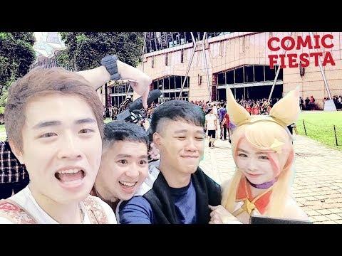 啦啦啦 馬來西亞  COMIC FIESTA 撩妹撩弟比賽