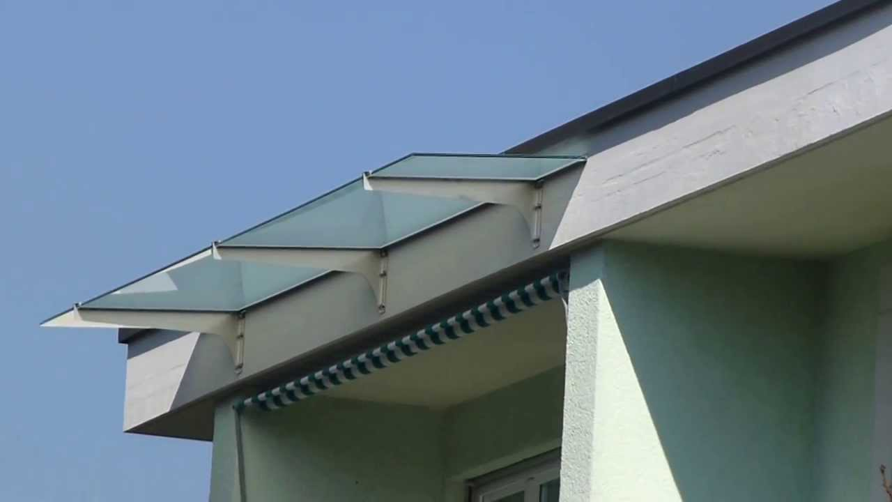 Balkon Vordach Wetterschutz 3 Og Duebendorf Youtube