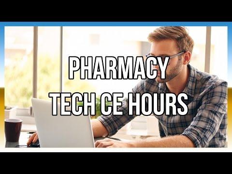 Pharmacy Tech CE Hours