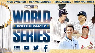 World Series Watch Party: Nick Swisher, Tino Martinez, Rick Ankiel, Ben Verlander | GAME 4 | FOX MLB