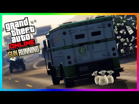 GTA ONLINE BEST WAYS TO MAKE MONEY TO PREPARE FOR GUNRUNNING DLC - BECOMING A MILLIONAIRE! (GTA 5)