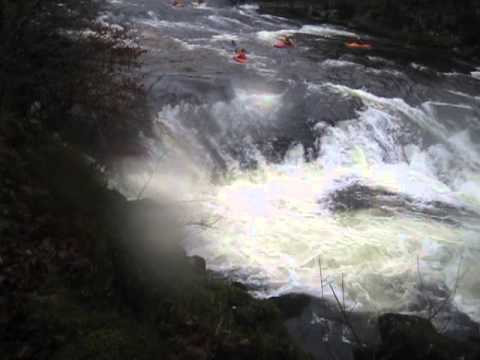 """River Dart - Kayaking on the Upper, the Loop and the """"Lower Lower"""" 2012"""