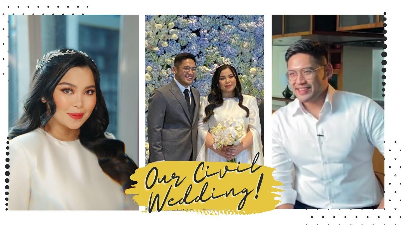 OUR WEDDING DAY VLOG ???? | Maricel Tulfo
