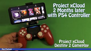 Project xCloud 2 Months Later Destiny 2 Gameplay