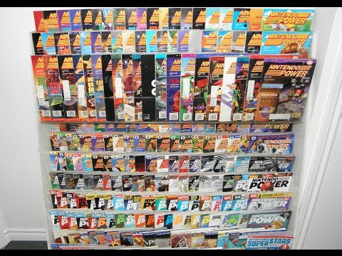 Expanding My Game Room - Nintendo Power Magazine