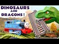 Dinosaurs & Dragons With Thomas And Friends Toy Trains Disney Cars McQueen Games And Play Doh TT4U