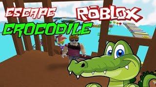 Escape-alligator Crocodile fa Roblox?
