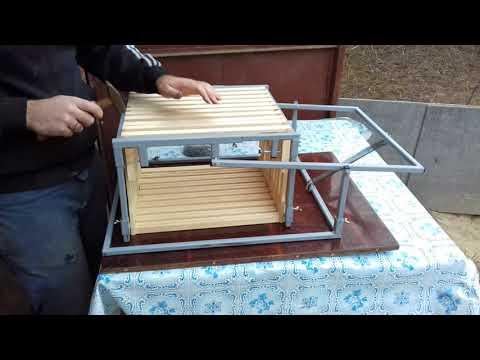 Кондуктор для сбивания пчелиных рамок Дадан 300/435, Рута 230/435, магазинных 145/435.