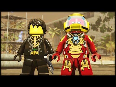 LEGO MARVEL AVENGERS - Customs - Creating Ninjago Cole & Blitz Mk4!