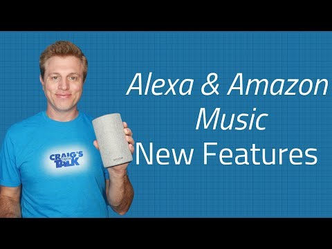 Alexa Music Playlist & Recently Played - New features Amazon Music Mp3
