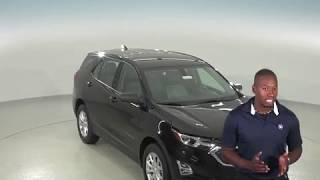 183042 - New, 2018, Chevrolet Equinox, SUV, Black, Test Drive, Review, For Sale -