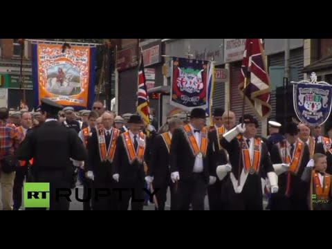 LIVE: Belfast holds unionist parade in Twelfth of July festivities