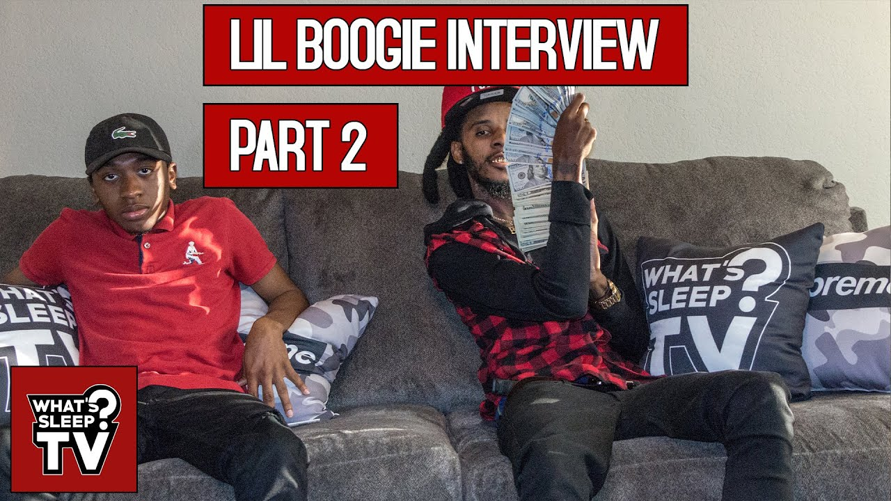 Lil Boogie Says When Rappers Write They're Thinking Of A Lie, Talks Jewelry, & His Twitter Comedy