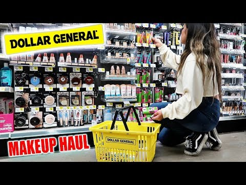 COME SHOPPING With Me To The DOLLAR STORE  For MAKEUP DEALS!