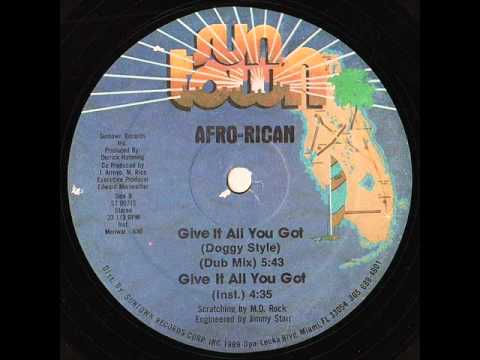 Afro-Rican - Give It All You Got (Dub Mix)