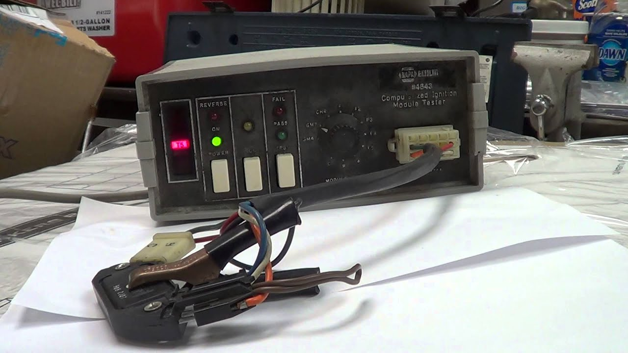 Gm 7 Pin Ignition Module Wiring Trusted Diagrams Wire Diagram Switch Testing A 7pin Est Youtube Chevy