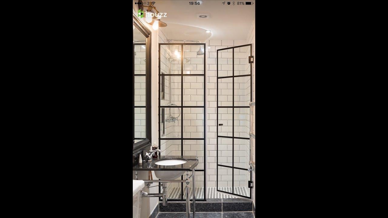 Kabiny Prysznicowe Industrialne Loftowe Z Systemem Przesuwnym Youtube
