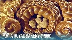 Apple Strudel, Fancy Bread, & Croquembouche: A Royal Bakery (1966) | British Pathé