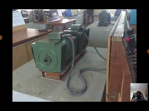Lab Video_18EEL47_Expt.No 9_Regenerative Test On DC Motor_Gopinath K, Madhava Rao J