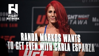randa markos on getting even with carla esparza improved striking focusing on one fight at a time