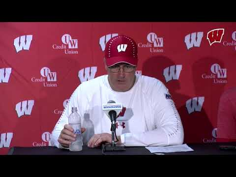Paul Chryst Postgame Press Conference: Wisconsin 34, Western Kentucky 3