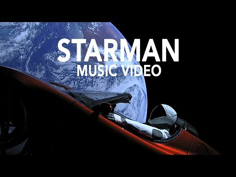 SpaceX Starman Music Video