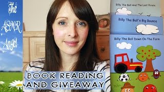 asmr billy the ball book reading and giveaway