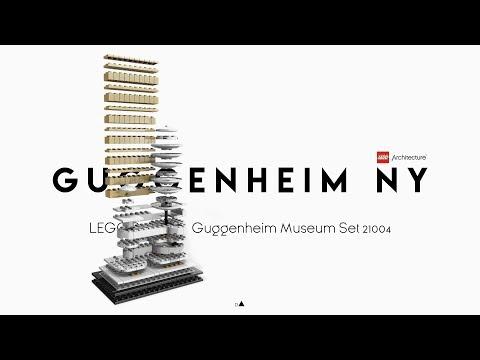 Solomon R. Guggenheim Museum - Frank Lloyd Wright   LEGO Architecture 21004