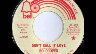 Bo Cooper .... Don