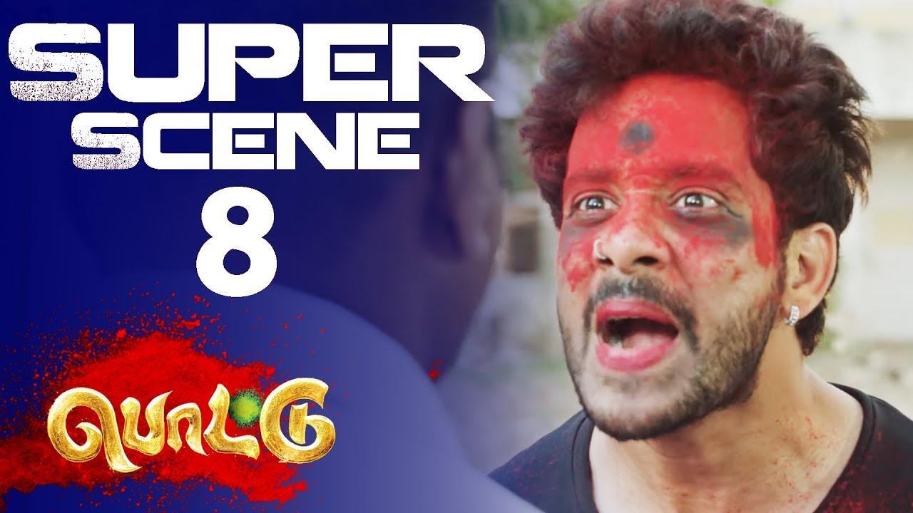 Download Pottu - Super Scene 8   2019   Bharath   Iniya   Namitha   Srushti Dange