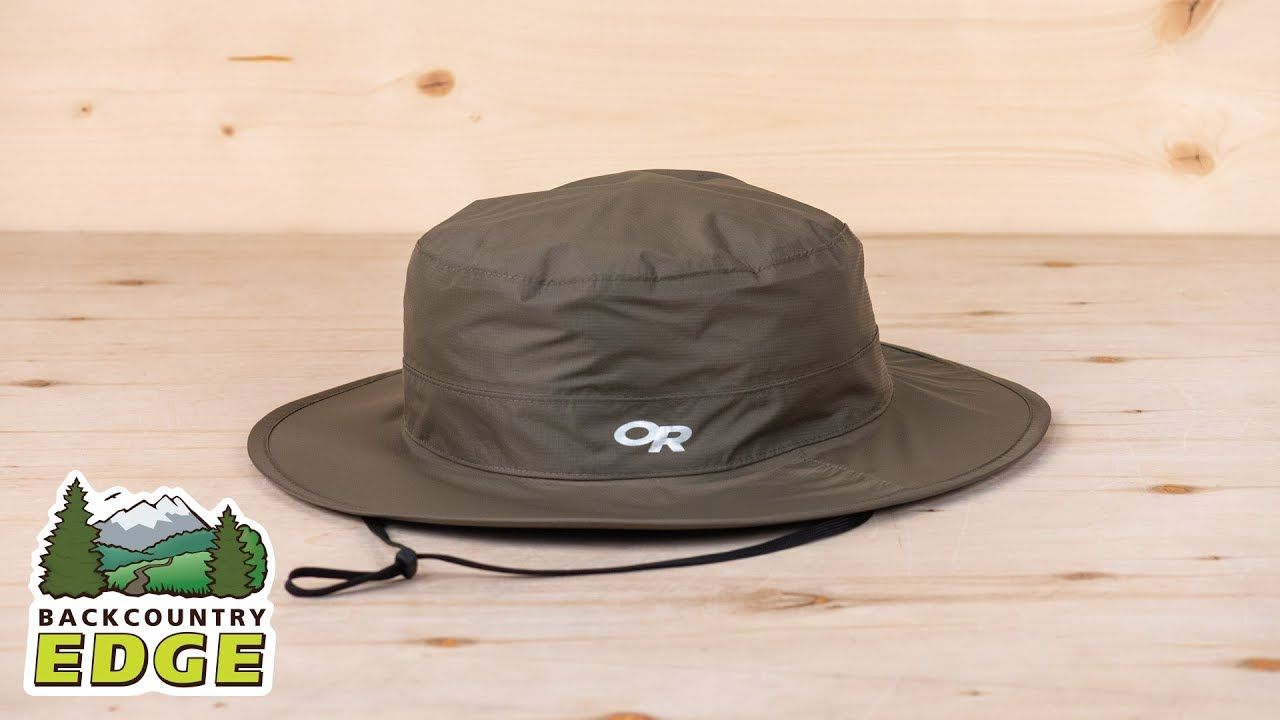 Outdoor Research Cloud Forest Rain Hat - YouTube 006657316cd
