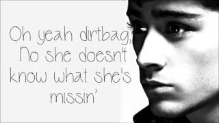 One Direction   Teenage Dirtbag Lyrics