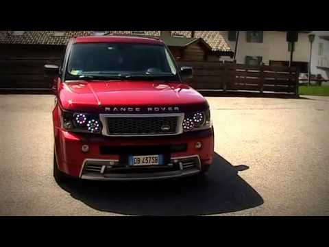 range rover sport hse with custom made angel eyes system by lightwurkz youtube. Black Bedroom Furniture Sets. Home Design Ideas