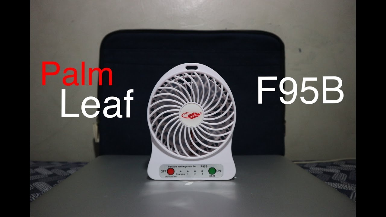 4 Palm Leaf Mini Portable Rechargeable Fan Defective Youtube Usb Battery Replacement By Lm317