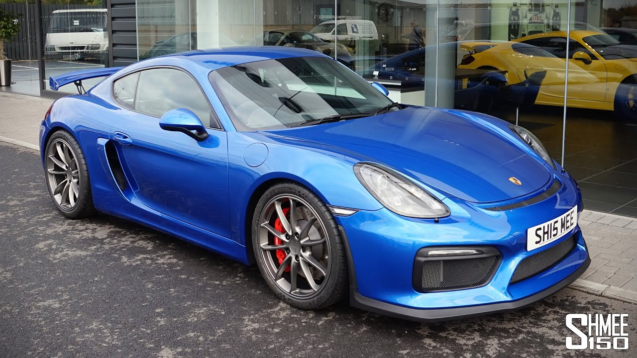 collecting my porsche cayman gt4 surprise new. Black Bedroom Furniture Sets. Home Design Ideas