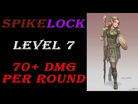 Spikelock - Half-elf Land Druid Hexblade Warlock Fighter Combo Build | Dungeons & Dragons 5e