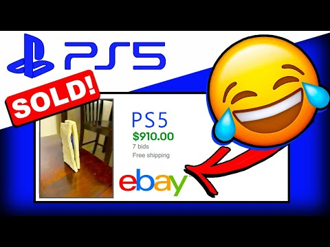 The DUMBEST FAKE PS5s That SOLD!! On EBAY (PlayStation 5 FAKES)