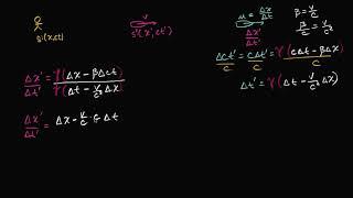 Эйнштейновская формула сложения скоростей (видео 17)| Специальная теория относительности
